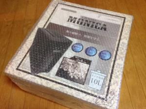 シュレッダー 家庭用monicaモニカマイクロシュレッダーの箱