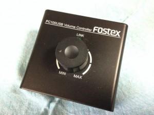 PC100USB Fostexボリュームコントローラー