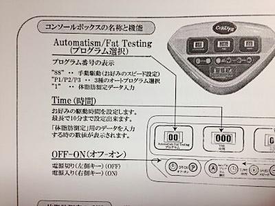 クレイジーフィットネス(Crazy Fitness)振動マシン説明書機能解説1