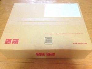 ユニクロ&ルメール レギュラーカラーシャツ白の箱
