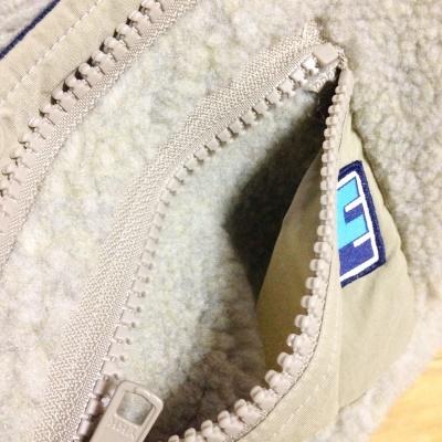 ヘリーハンセンフリース ファイバーパイルサーモフーディーOM レディースLサイズ 胸ポケット内側