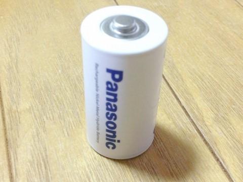 パナソニック 単2形ニッケル水素充電池「BK-2MGC/1」
