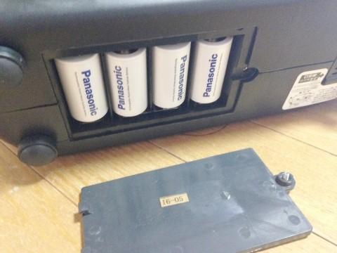 テニスパートナー トス用マシン(PB-2TG0024) 単2電池セット