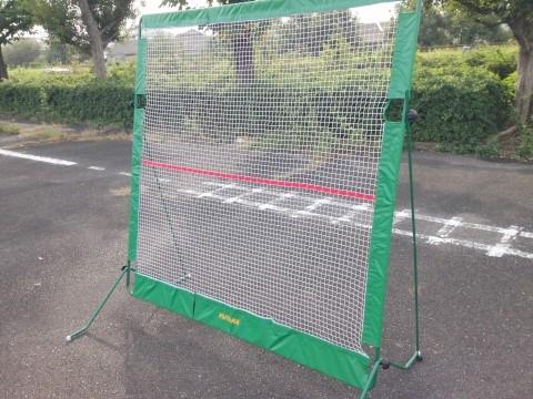 テニス練習器具 YUTAKA「リバウンドネット」完成