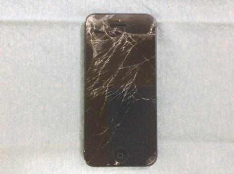 自分でiPhone5フロントパネル交換修理1