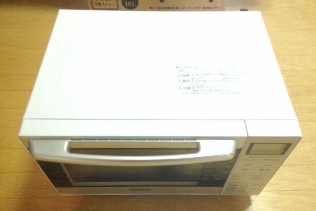 アイリスオーヤマMO-F1801 本体画像