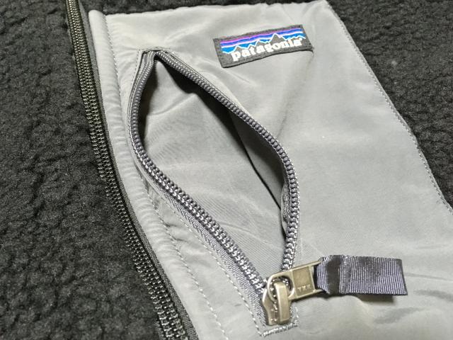 メンズ レトロX XSサイズ 胸ポケット内部