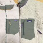 パタゴニア レトロX 胸ポケットのサイズ感