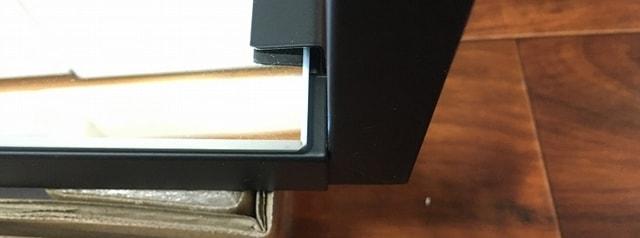 LOWYA全身鏡 突っ張りミラー土台部分取り付け2