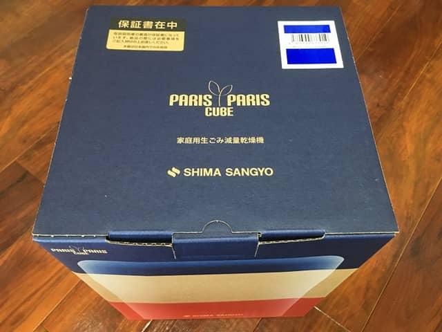 パリパリキューブライトPCL-31-BWBのパッケージ