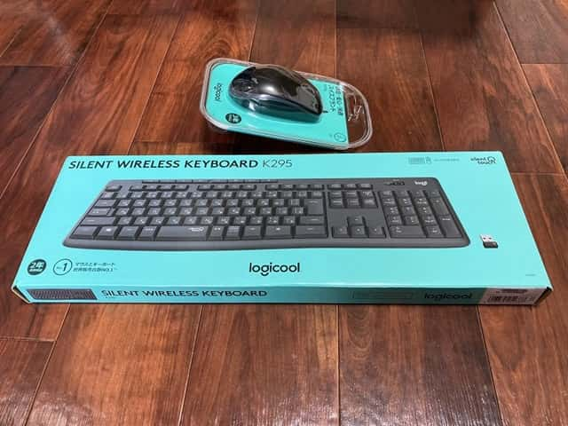 静音マウスとキーボードのパッケージ