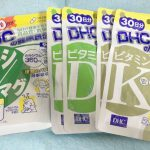 DHCサプリ ビタミンK&D、カルシウム